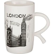 КРУЖКА (Фарфор) «LONDON» 600 МЛ. 14*8 СМ. ВЫСОТА=14 СМ.