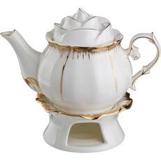 Заварочный чайник (Фарфор) «ЦВЕТОЧНАЯ СИМФОНИЯ» 500 мл.